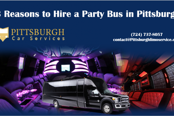 Hire a Party Bus in Pittsburgh