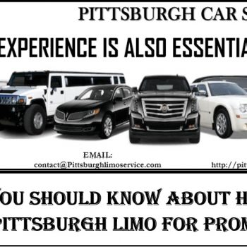 Pittsburgh Limo for Prom