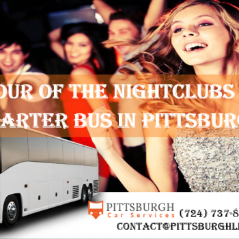 Charter Bus in Pittsburgh