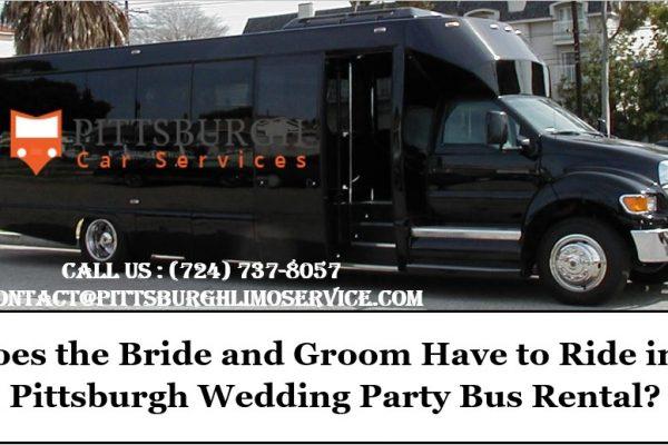 Pittsburgh Wedding Party Bus Rental