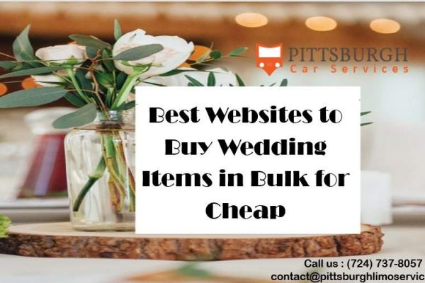 Need Wedding Decor and Items in Bulk? Visit These Cheap Sites